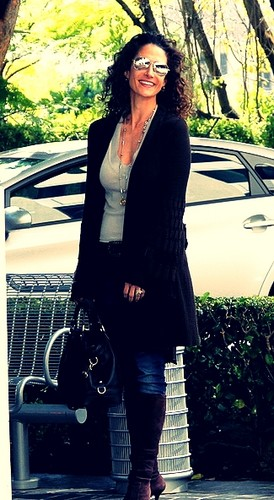 Melina Kanakaredes in Beverly Hills