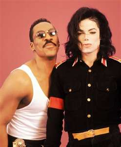 Michael And Eddie Murphy