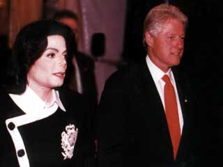Michael And Former President , Bill Clinton