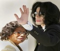 Michael And His Mother, Katherine - michael-jackson photo