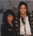 Michael And His Older Sister, Rebbie - michael-jackson photo
