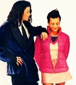 Michael And Kidada Jones - michael-jackson photo