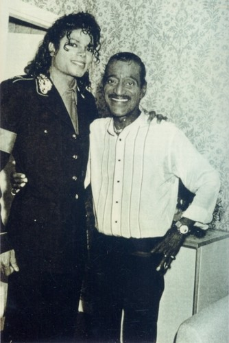 Michael And Sammy Davis, Jr.