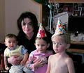 Michael And The Jackson Kids - michael-jackson photo