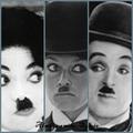 Michael Jackson,Brigitte Bardot & Charlie Chaplin