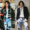 MICHAEL JACKSON AND JOHNNY DEPP - michael-jackson photo