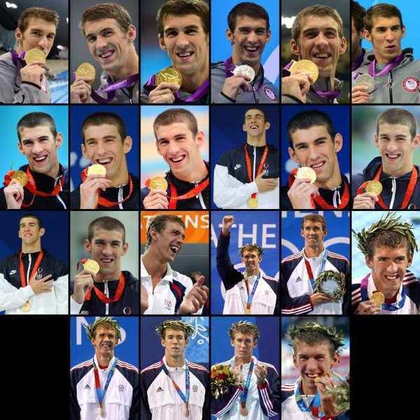 Michael Phelps: Winning 22 تمغے