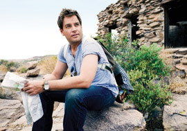 Michael Weatherly in CBS Watch! Magazine