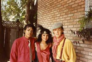 Michael With Sister, Latoya and Paul McCartney