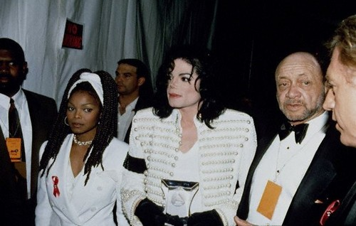 Michael With Younger Sister, Janet, And Bill Bray