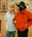 Michael and Debbie - michael-jackson photo