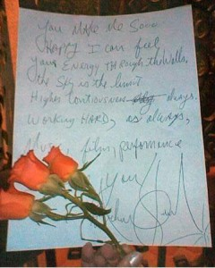 Michael's Message ♥♥