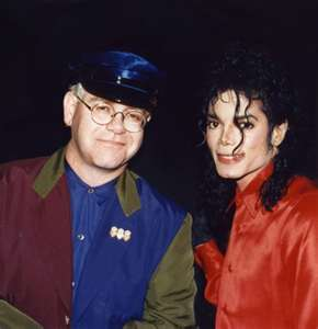 Michael And Good Friend, Elton John