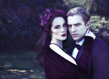 Downton Abbey wolpeyper probably with a portrait entitled Michelle Dockery & Dan Stevens for Evening Standard Magazine