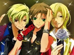 Mikage, Teito and Hakuren