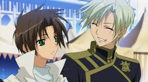 Mikage and Teito