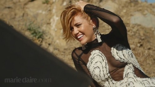 Miley Cyrus- Marie Claire magazine, september issue 2012 - miley-cyrus Photo