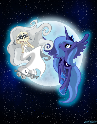 My Little Pony Friendship is Magic wallpaper entitled Milky Way and the Galaxy Ponies