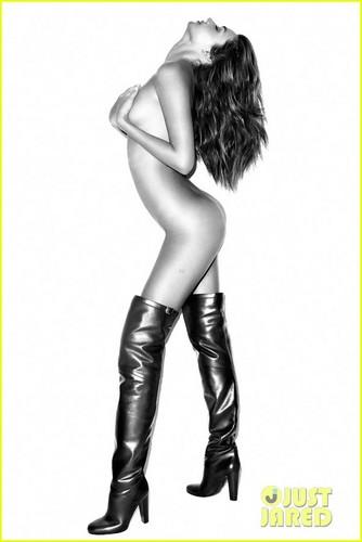 Miranda in this new fashion spread for Harper's Bazaar's September 2012 issue