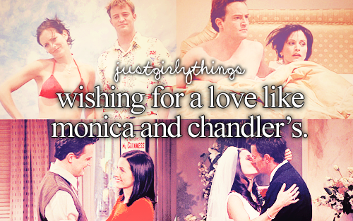 Monica and Chandler wallpaper entitled Monica and Chandler