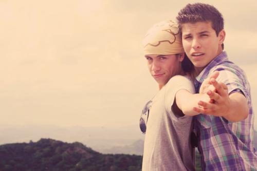 Munro And Luke :D