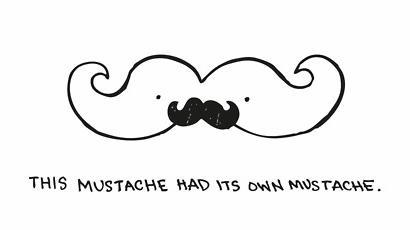 HaleyDewit Обои entitled Mustache Has a Mustache