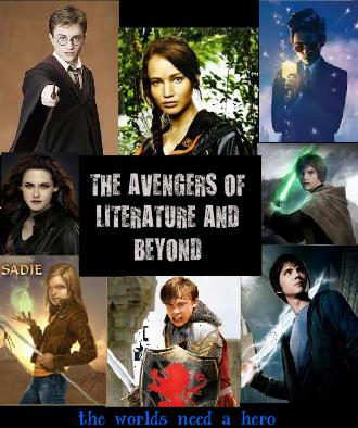 True Writers fond d'écran possibly containing animé titled My Fanmade Cover of The Avengers of Literature and Beyond! :D (I AM SO BORED)