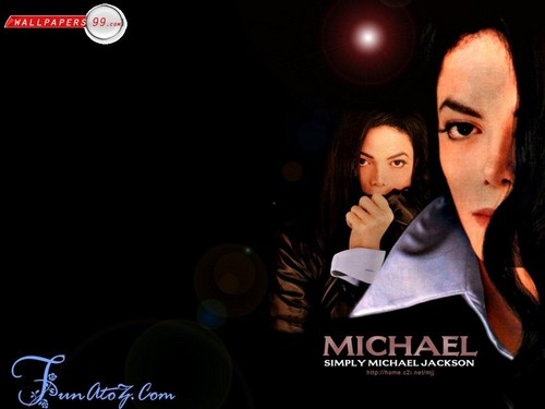 Michael Jackson wallpaper with a portrait entitled My Immortal Beloved