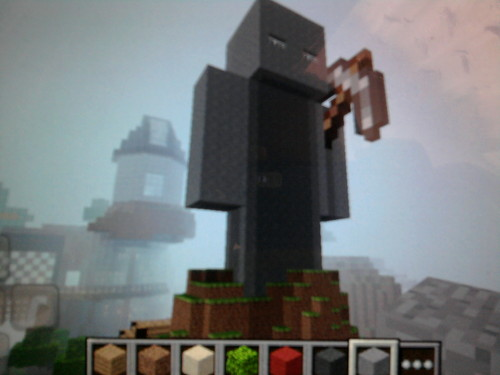 My maden steve from minecraft