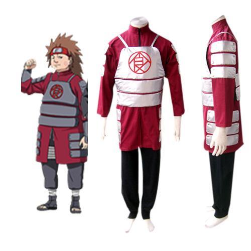 Naruto Shippuden Akimichi Chouji Cosplay Costume