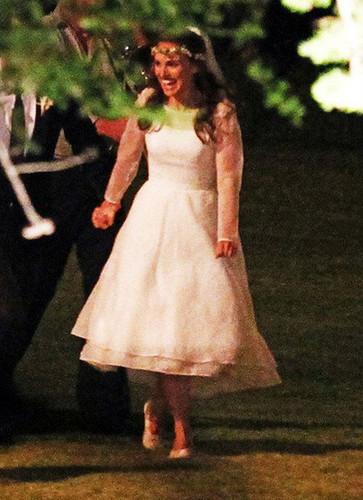 Natalie Portman's Wedding Dress