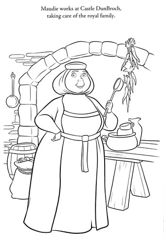 New Brave Coloring Pages - brave Photo
