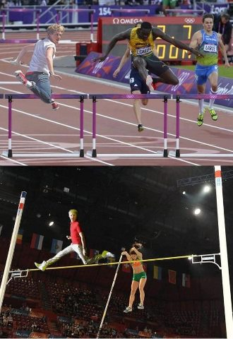 Niall at the olympics