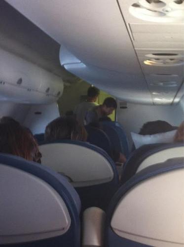 Nick J plane flight to texas
