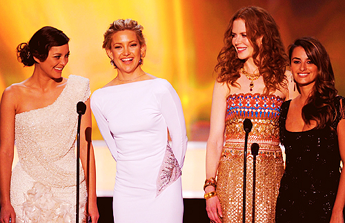 Nicole Kidman with the Actresses Of Nine