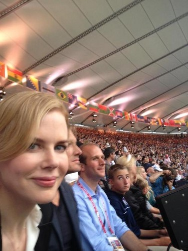 Nicole at the Olympics
