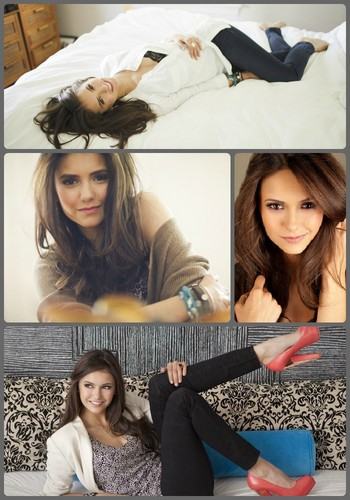 Nina Dobrev images Nina Dobrev collage HD wallpaper and background photos