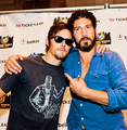 Norman Reedus and Jon Bernthal