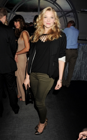 Natalie Dormer wallpaper with a well dressed person entitled OMEGA House Presents 'Athletics Night' Party