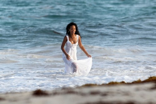 On The Set Of A BTA Campaign In Barbados [9 August 2012]