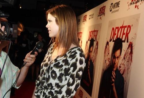 On th premiere 'Dexter'