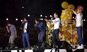 One Direction closing ceremony Londra 2012