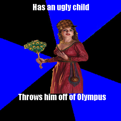 The Heroes of Olympus achtergrond called One of Hera's Bad Moments