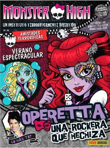 Monster High wallpaper with anime entitled Operetta
