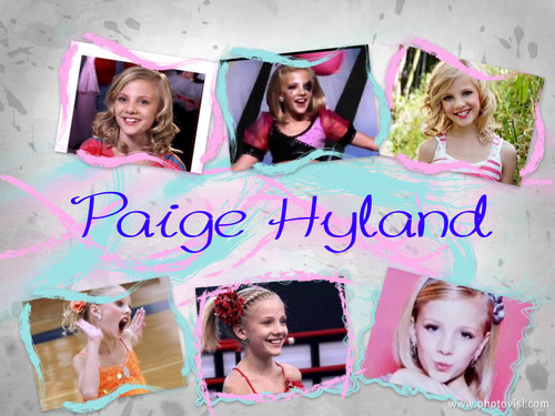 Paige Hyland collage
