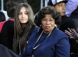 Paris With Her Paternal Grandmother, Katherine Jackson