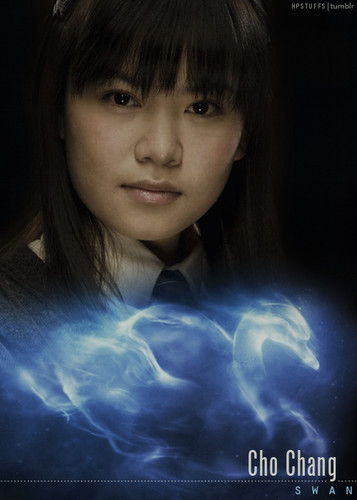 Harry Potter kertas dinding called Patronus