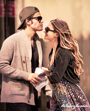 Paul Wesley and Nina Dobrev <3