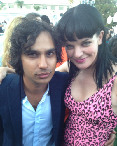 Pauley @ the TCA Party - pauley-perrette Photo