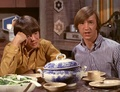 Peter Tork and Davy Jones
